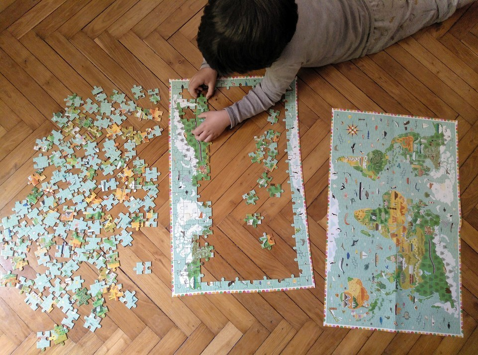 puzzles observation